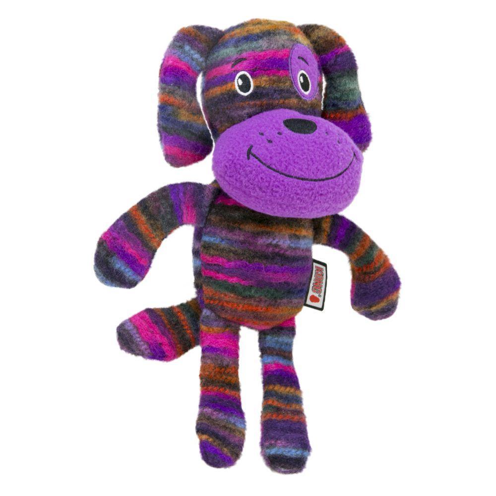 KONG Yarnimals Dog Dog Toy, Multi-colored, Small/Medium