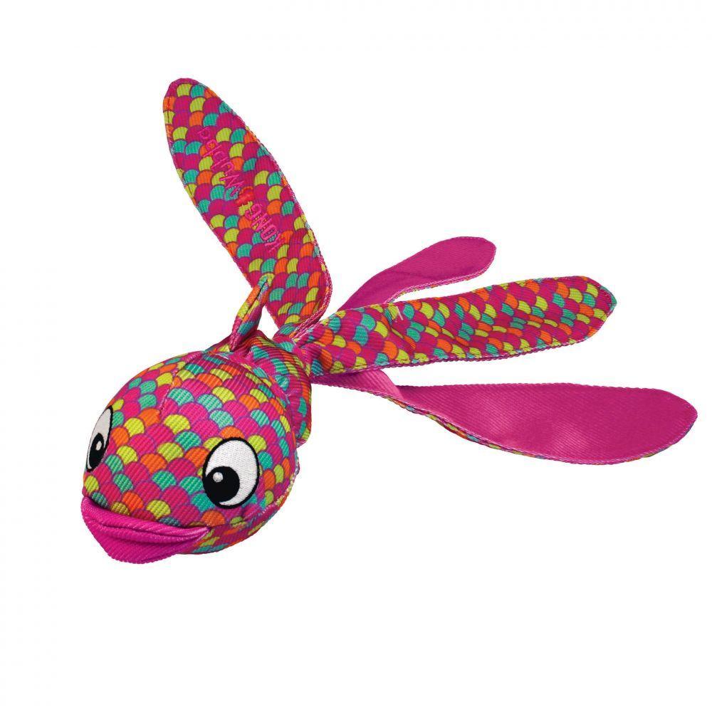 KONG Wubba Finz Dog Toy, Pink, Large