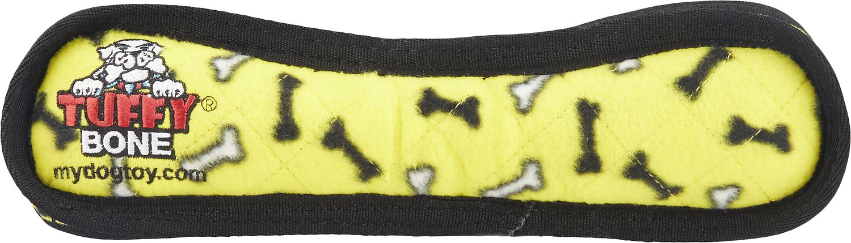 Tuffy's Ultimate Bone Dog Toy, Yellow Bones