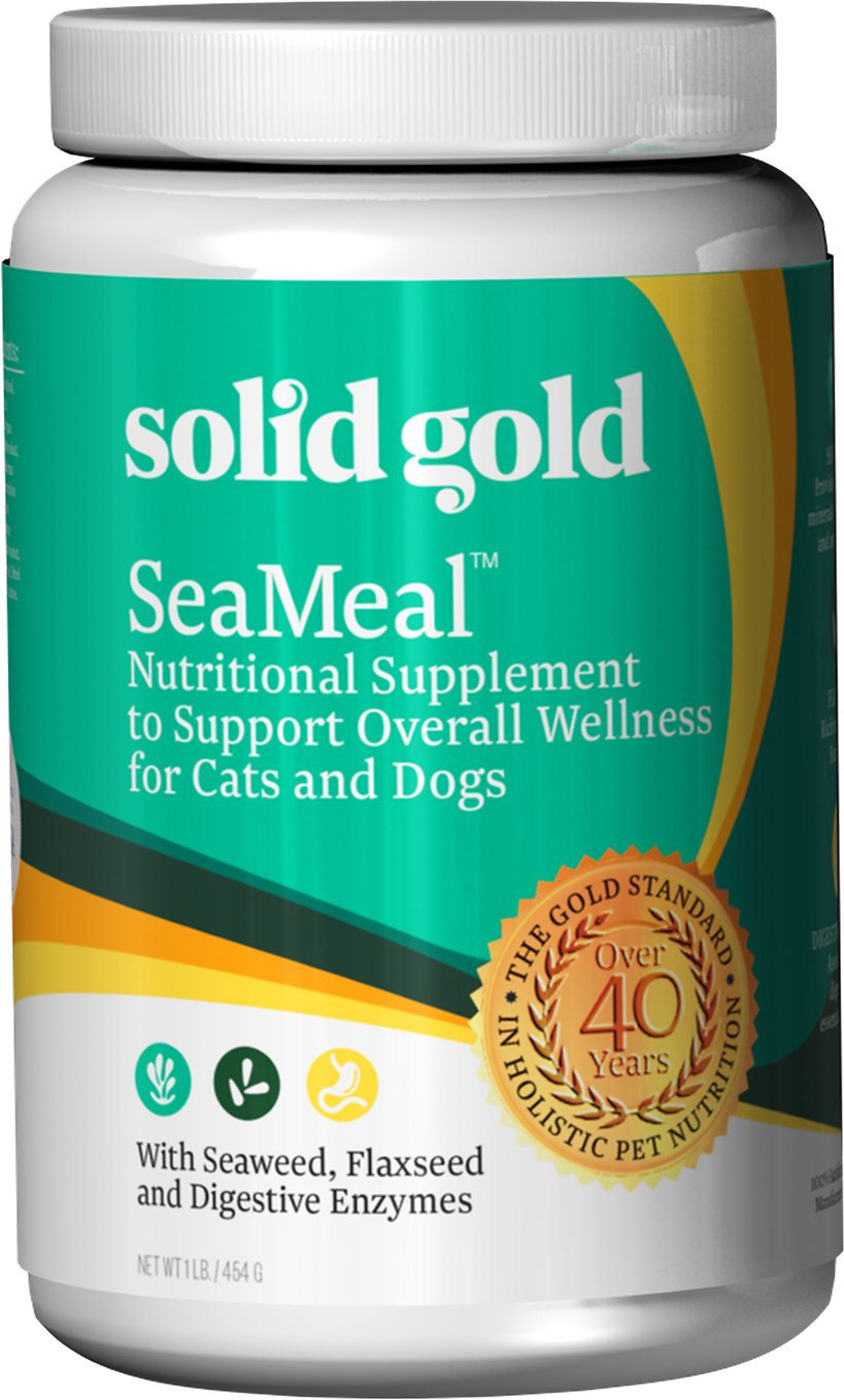 Solid Gold Suppliments SeaMeal Skin & Coat, Digestive & Immune Health Powder Grain-Free Dog & Cat Suppliment Image