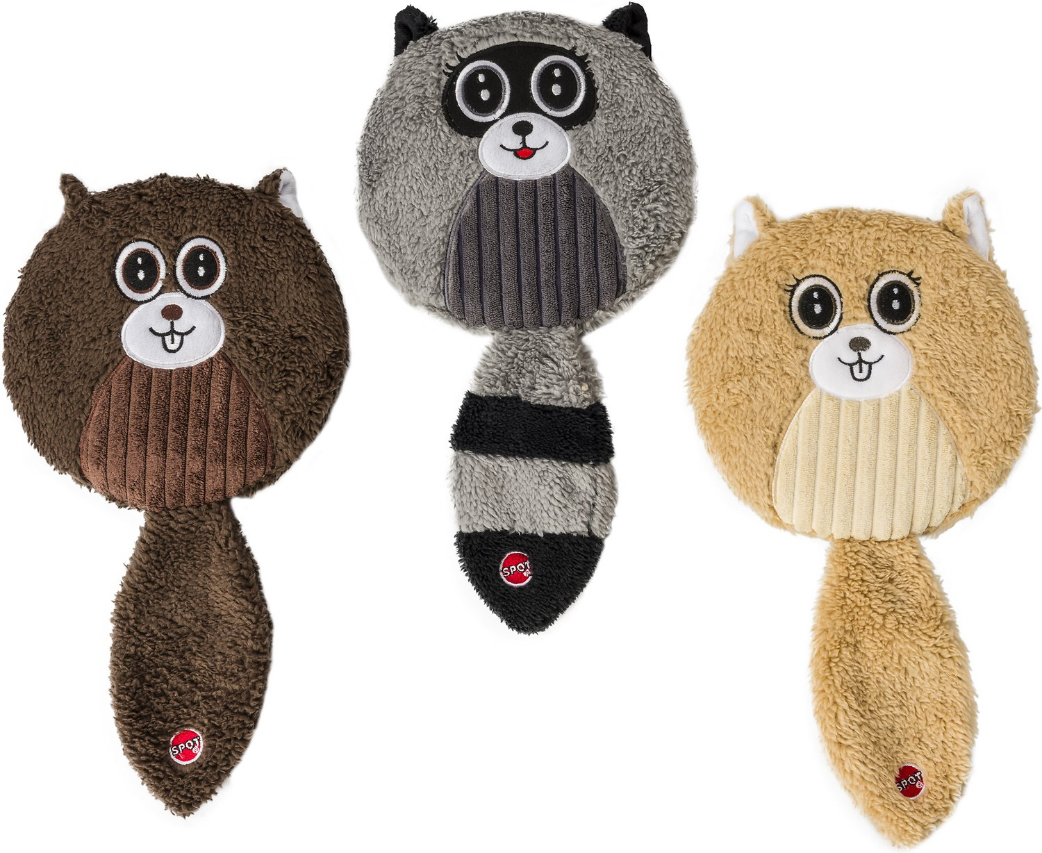 Ethical Pet Flat Jax Dog Toy, 13-in