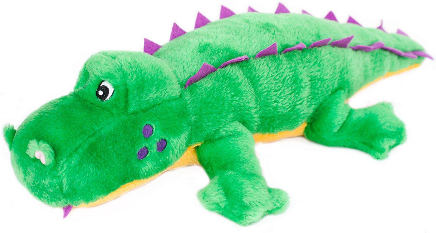 ZippyPaws Alvin the Alligator Grunterz Dog Toy
