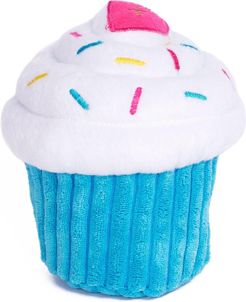 ZippyPaws Cupcake Dog Toy, Pink