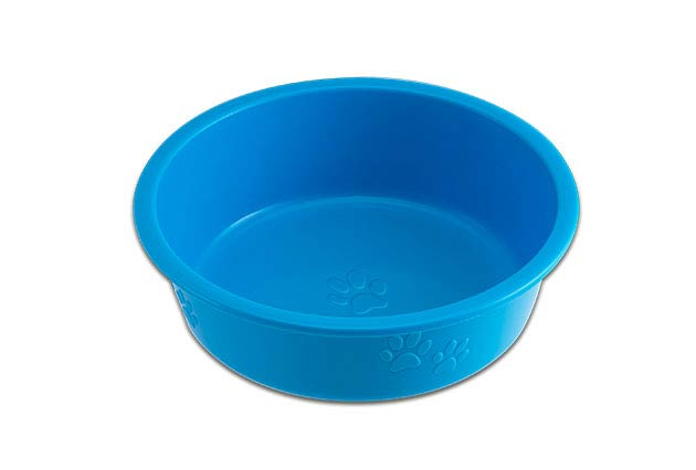 Loving Pets Dolce Luminoso Dog Bowl, Blue, Small