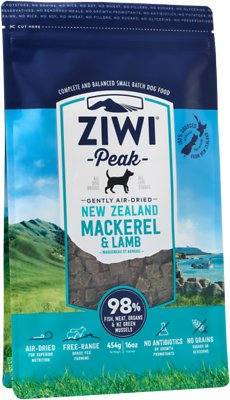 Ziwi Peak Dog Mackerel & Lamb Recipe Air-Dried Dog Food, 16-oz bag