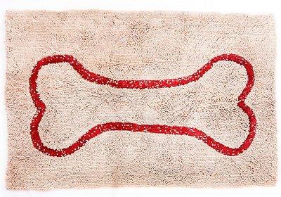 Soggy Doggy Microfiber Doormat, Beige, Large