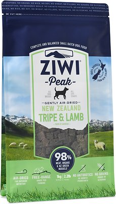 Ziwi Peak Dog Tripe & Lamb Recipe Air-Dried Dog Food, 2.2-lb bag