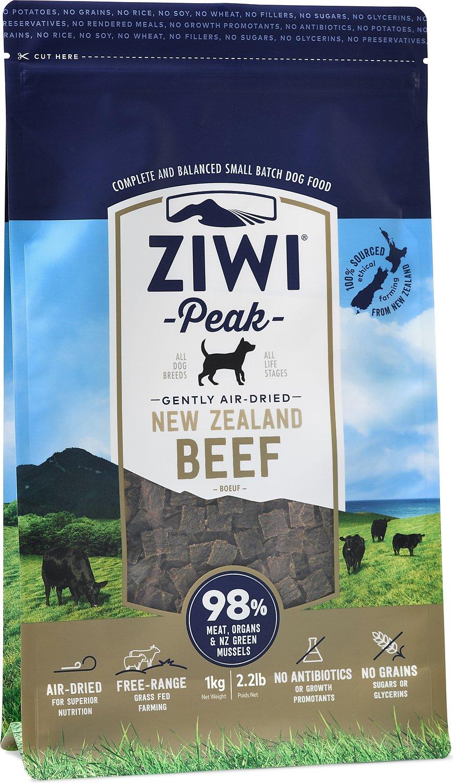 Ziwi Peak Dog Beef Recipe Grain-Free Air-Dried Dog Food Image