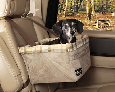 Solvit Deluxe Tagalong Pet Booster Seat, Large