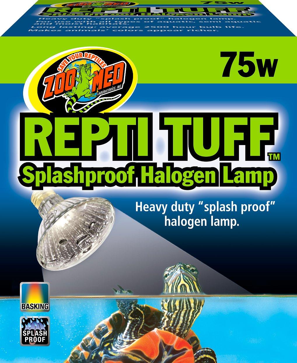 Zoo Med Repti Tuff Halogen Lamp, 75-watt