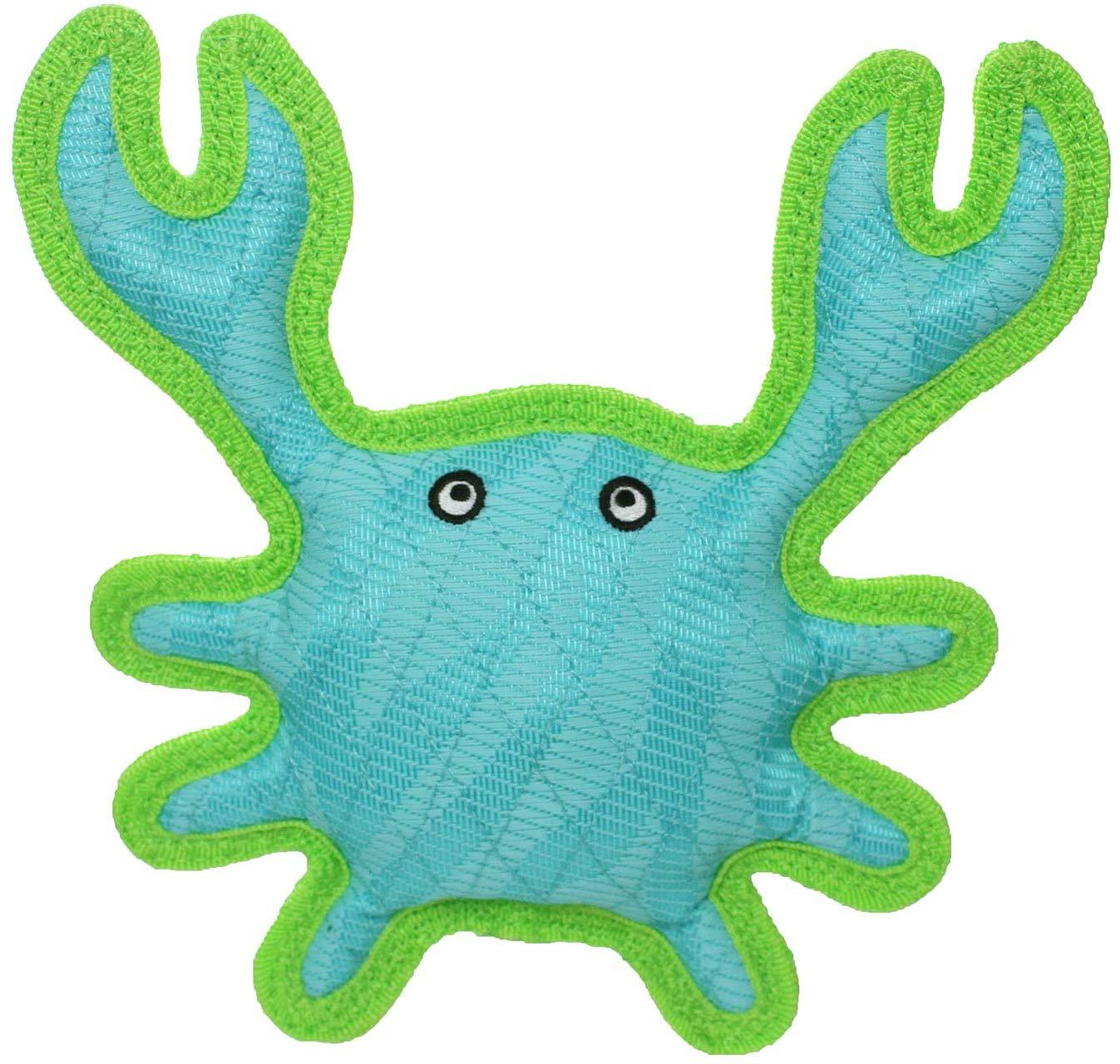 DuraForce Crab Tiger Dog Toy, Blue