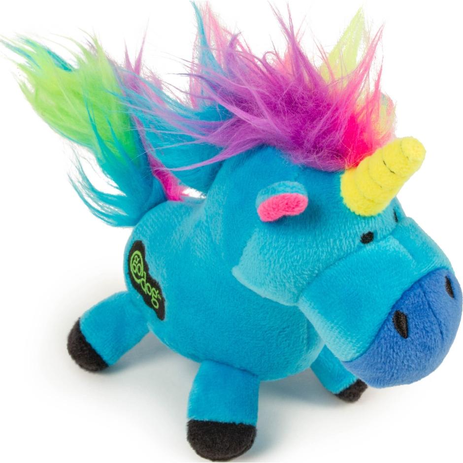 Go Dog Unicorn Dog Toy, Blue Image