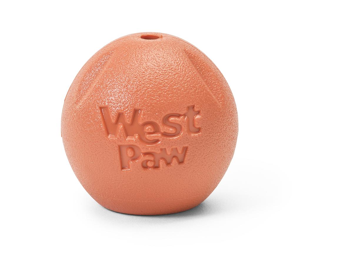 West Paw Rando Zogoflex Dog Chew Toy, Melon Image