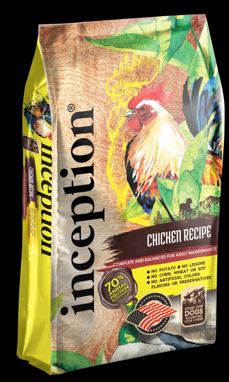 Inception Chicken Recipe Whole Grain Dry Dog Food, 27-lb bag