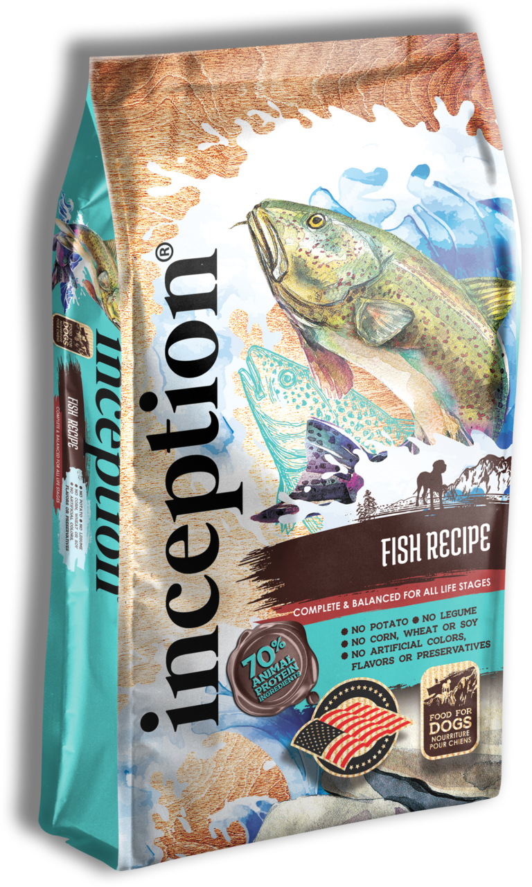 Inception Fish Recipe Whole Grain Dry Dog Food, 27-lb bag