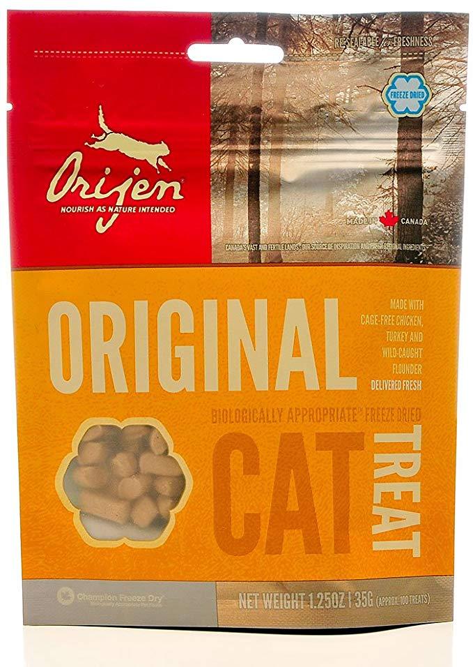 ORIJEN Freeze Dried Original Cat Treats, 1.25-oz bag