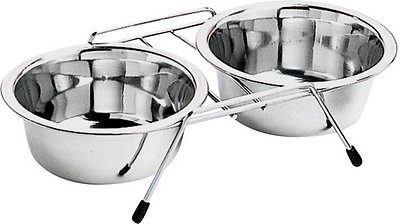 Ethical Pet Diner Time Stainless Steel Pet Bowls, Small