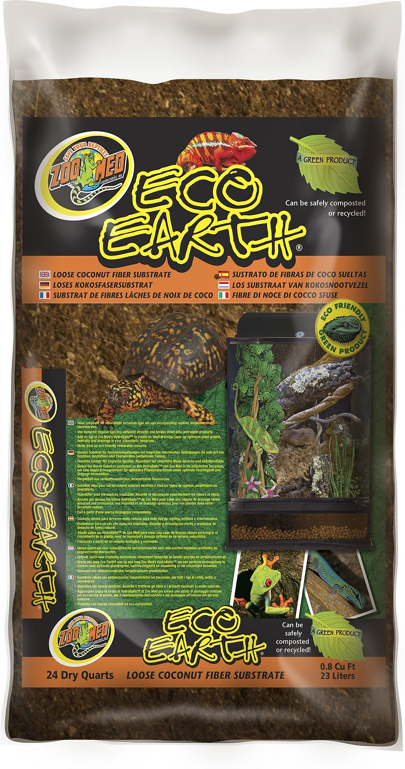 Zoo Med Eco Earth Loose Coconut Fiber Reptile Substrate Image