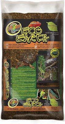 Zoo Med Eco Earth Loose Coconut Fiber Reptile Substrate, 24-qt bag