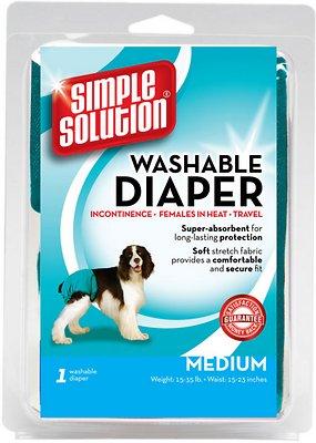 Simple Solution Washable Diaper, Medium