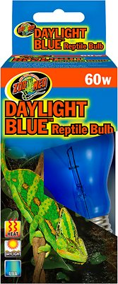 Zoo Med Daylight Blue Reptile Lamp, 60-Watt