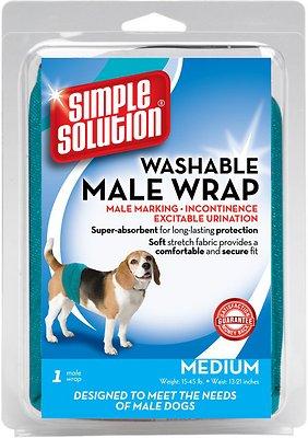 Simple Solution Washable Male Wrap, Medium