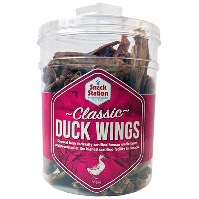This & That Snack Station Classic Duck Wings Freeze-Dried Dog Treats, 85-count