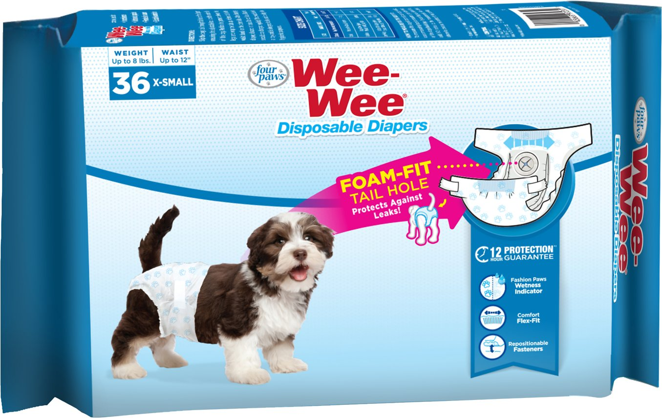 Wee-Wee Disposable Dog Diapers Image