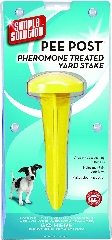 Simple Solution Pee Post Pheromone Treated Yard Stake