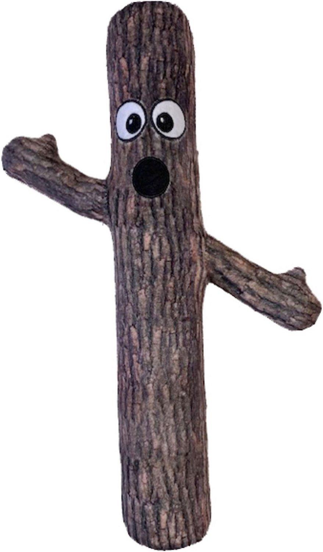fabdog Bendie Dog Toy, Tree, Small