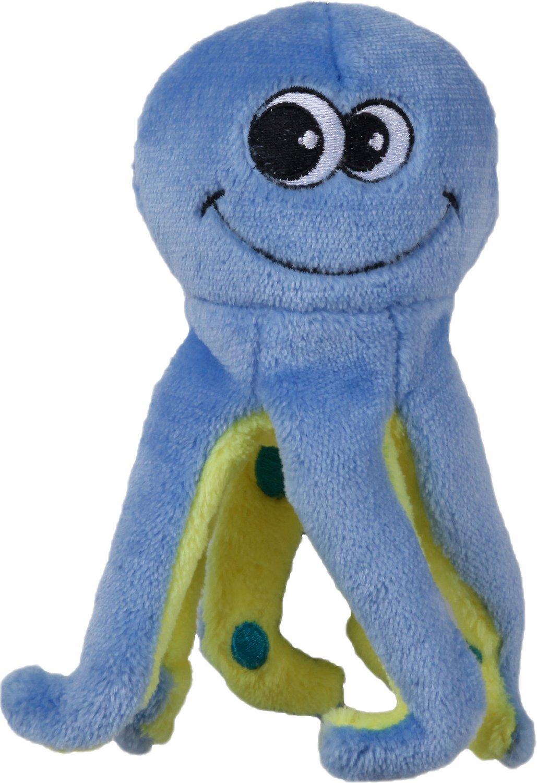 Smart Pet Love Tender-Tuffs EasyGrab Curly Leg Octopus Dog Toy, Medium