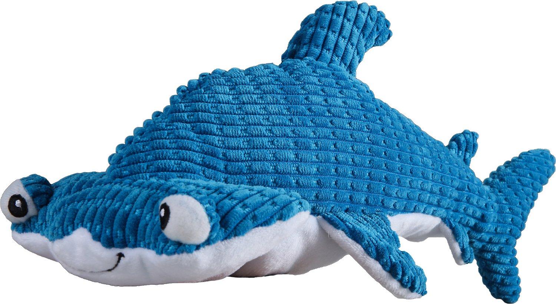 Smart Pet Love Tender-Tuffs Big Shots Hammerhead Shark Dog Toy, Large