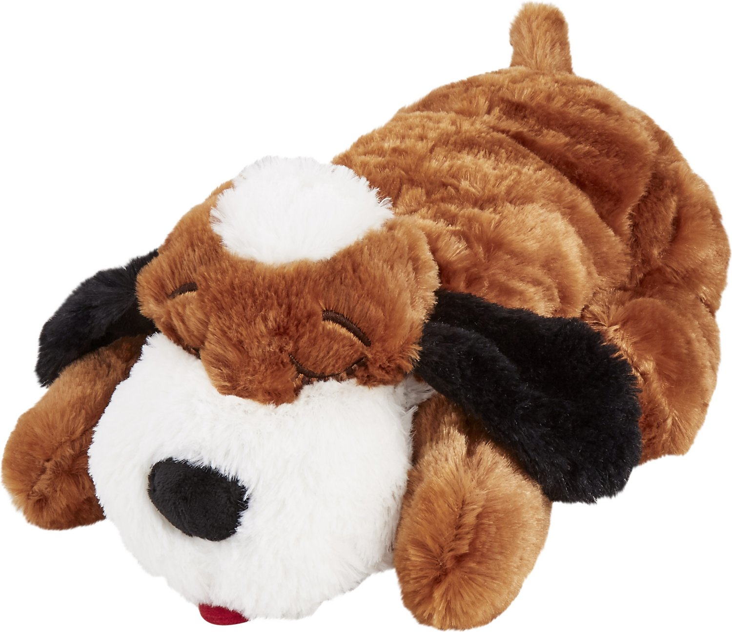 Smart Pet Love Snuggle Puppy Behavioral Aid Dog Toy, Brown & White