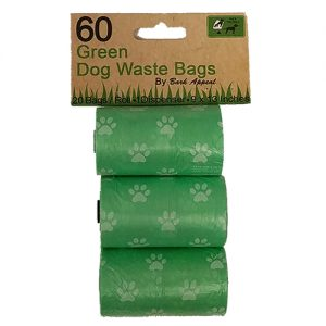 Bark Appeal Dog Waste Bags, Green Image