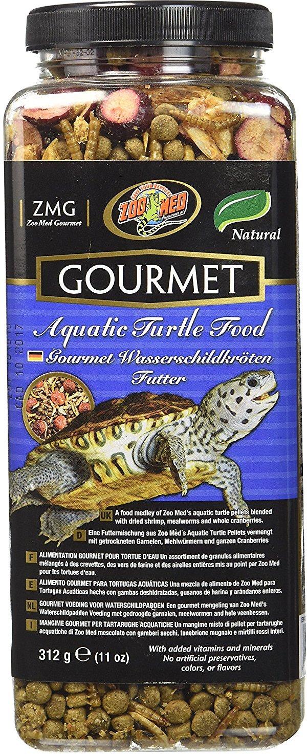 Zoo Med Gourmet Aquatic Turtle Food Image