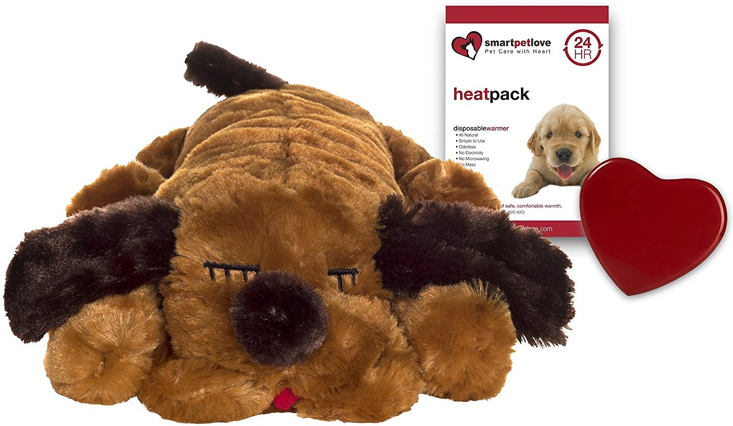 Smart Pet Love Snuggle Puppy Behavioral Aid Dog Toy, Brown