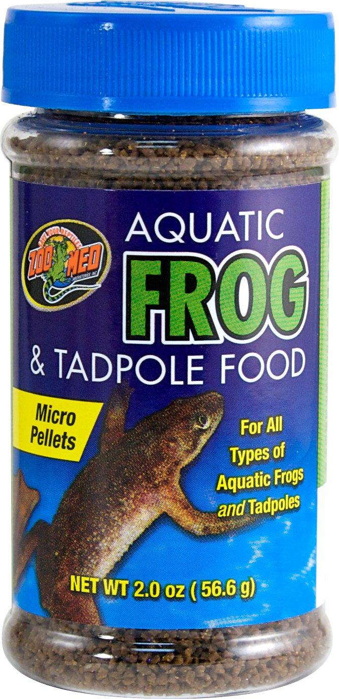 Zoo Med Aquatic Frog & Tadpole Food, 2-oz jar