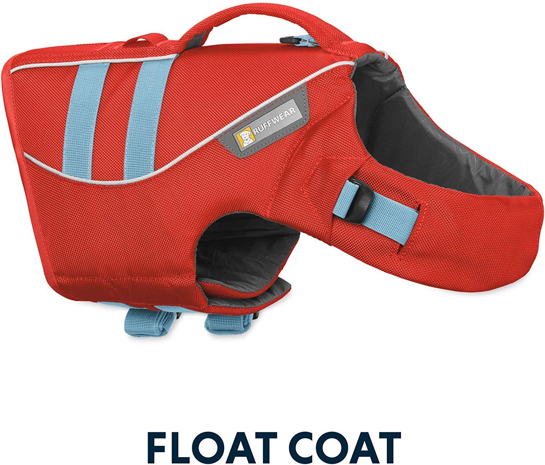 Ruffwear Float Coat Dog Life Jacket, Sockeye Red, X-Large