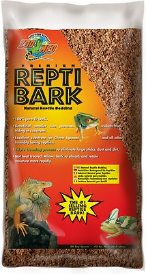 Zoo Med Premium Repti Bark Natural Fir Reptile Bedding, 24-qt bag
