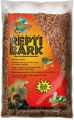 Zoo Med Premium Repti Bark Natural Fir Reptile Bedding, 8-qt bag