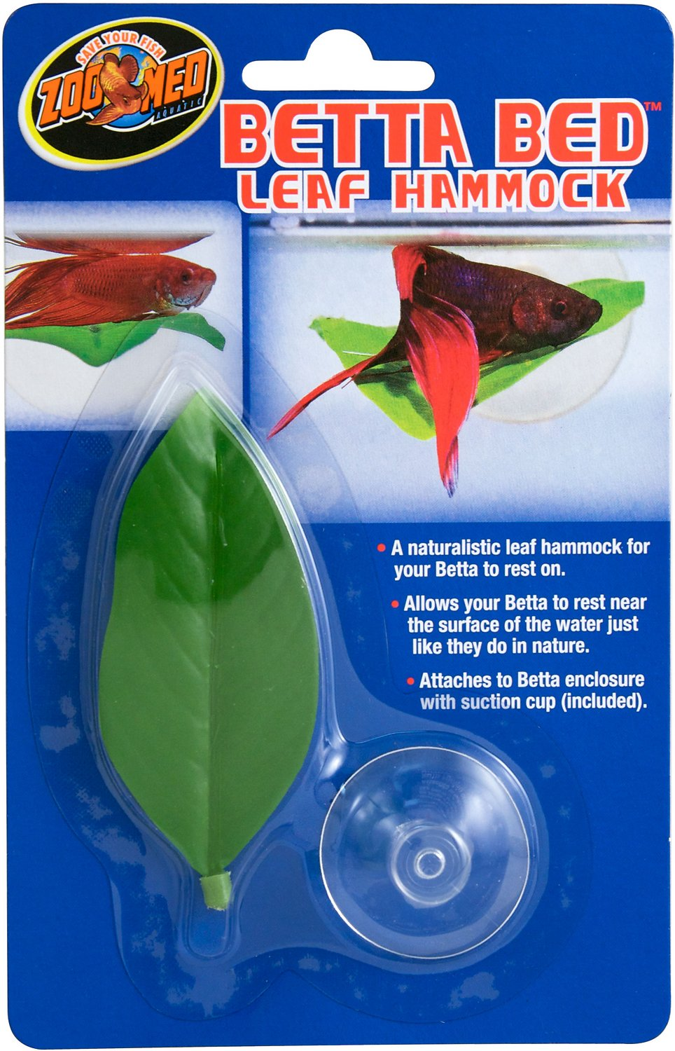 Zoo Med Betta Bed Leaf Hammock (Weights: 0.8 ounces) Image