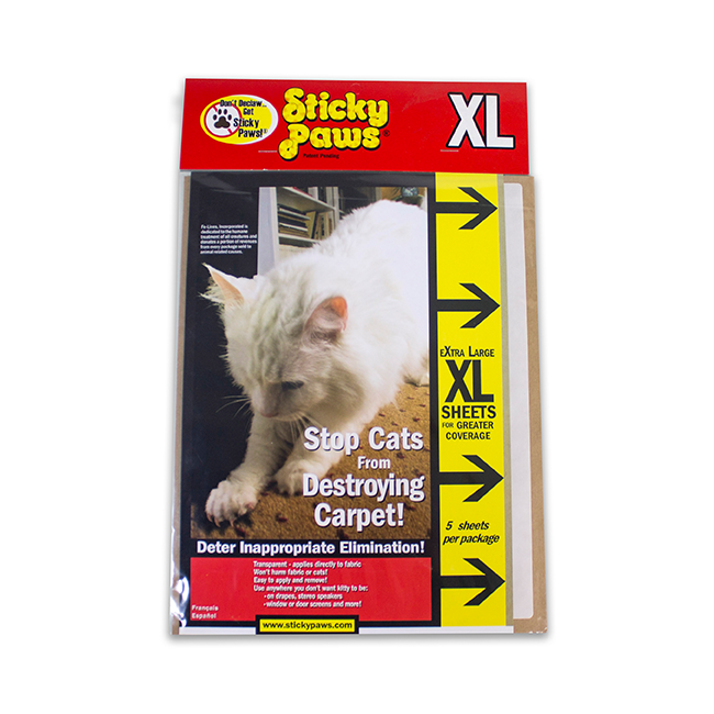 Pioneer Pet SmartCat Sticky Paws XL Sheets, 5 count