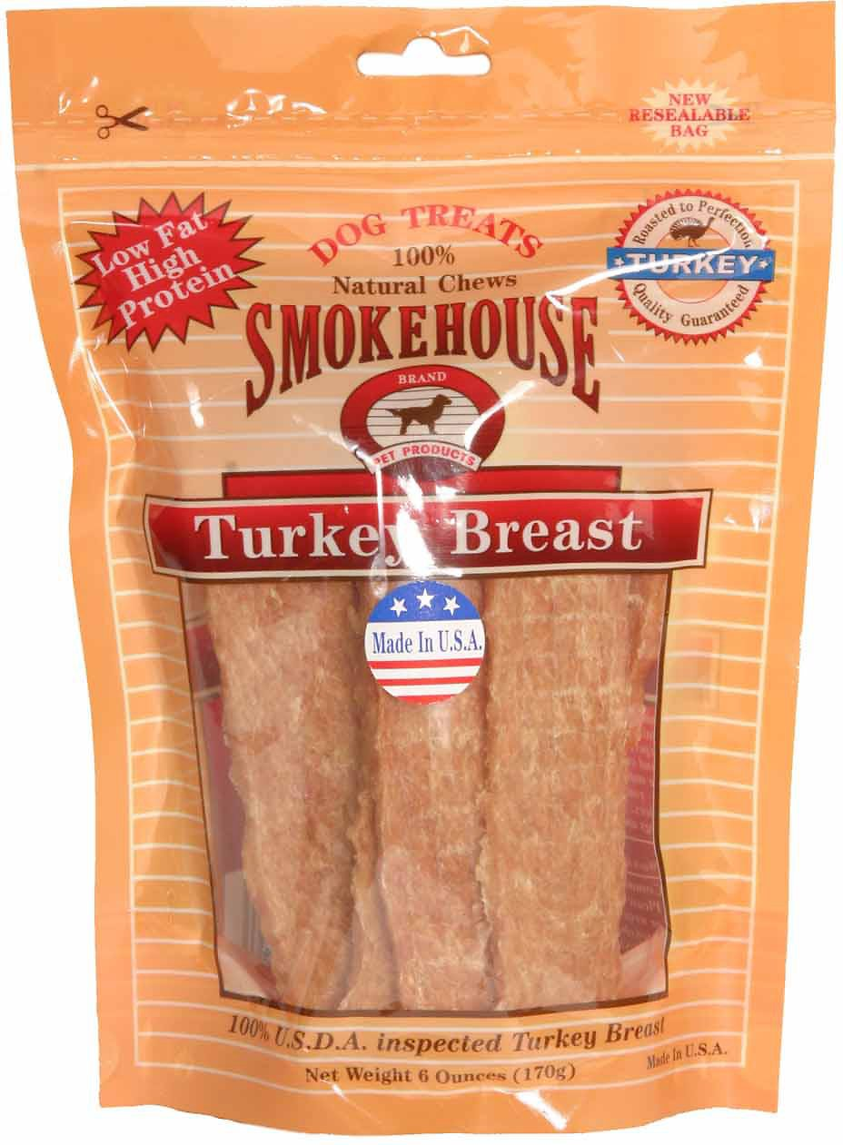 Smokehouse USA Turkey Breast Dog Treats Image