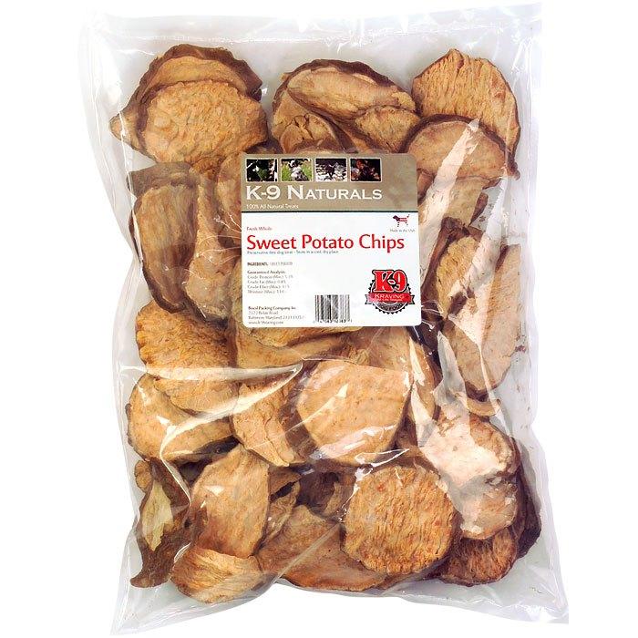 K-9 Kraving Sweet Potato Chips Dog Treats, 8-oz