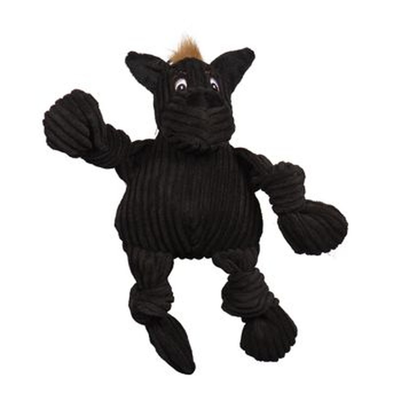 HuggleHounds Knottie HuggleMutt Tiny Dog Toy, Small