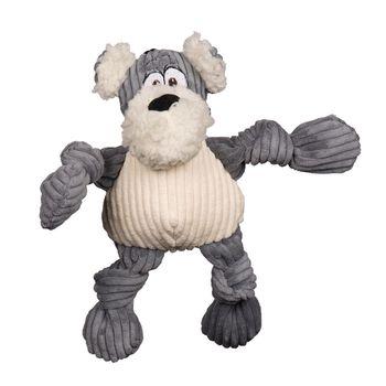 HuggleHounds Knottie HuggleMutt Roscoe Dog Toy, Small