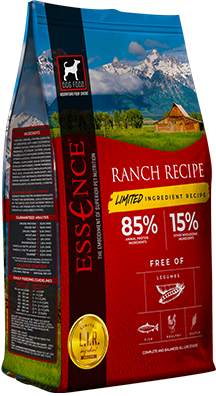 Essence LIR Ranch Recipe Dry Dog Food, 25-lb Size: 25-lb