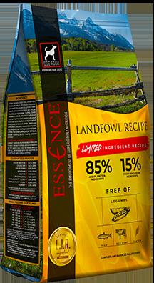 Essence LIR Landfowl Recipe Dry Dog Food, 25-lb