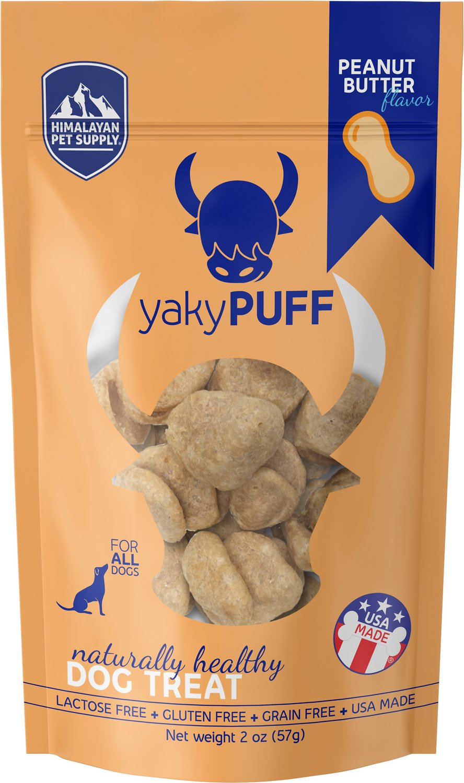 Himalayan Dog Chew yakyPUFF Peanut Butter Flavor Dog Treats, 2-oz