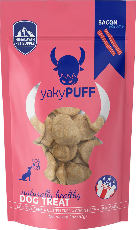 Himalayan Dog Chew yakyPUFF Bacon Flavor Dog Treats, 2-oz